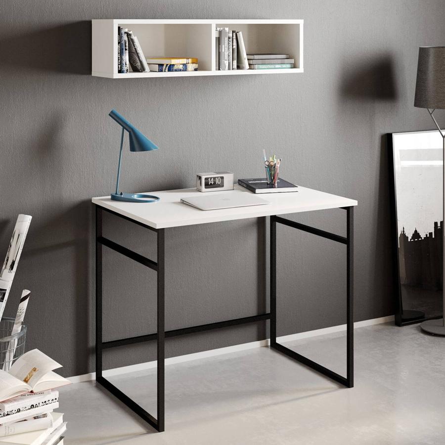 bureau métal design style industriel espace de travail bobochic