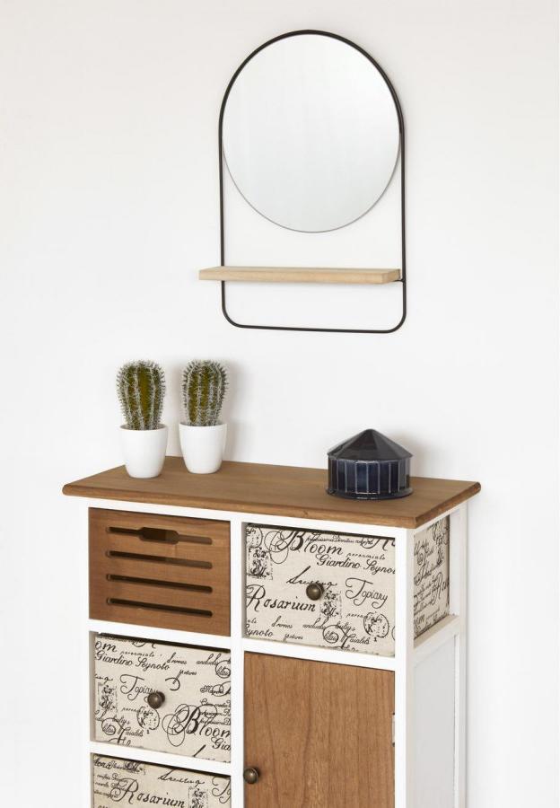 décoration appartement étudiant entrée miroir design bobochic
