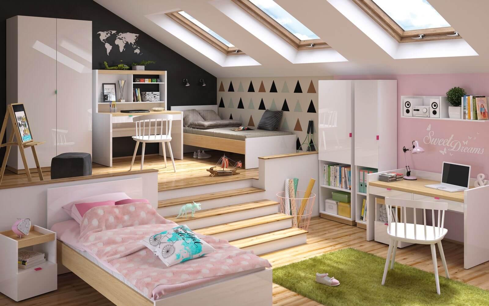 chambre enfant decoration meuble bobochic