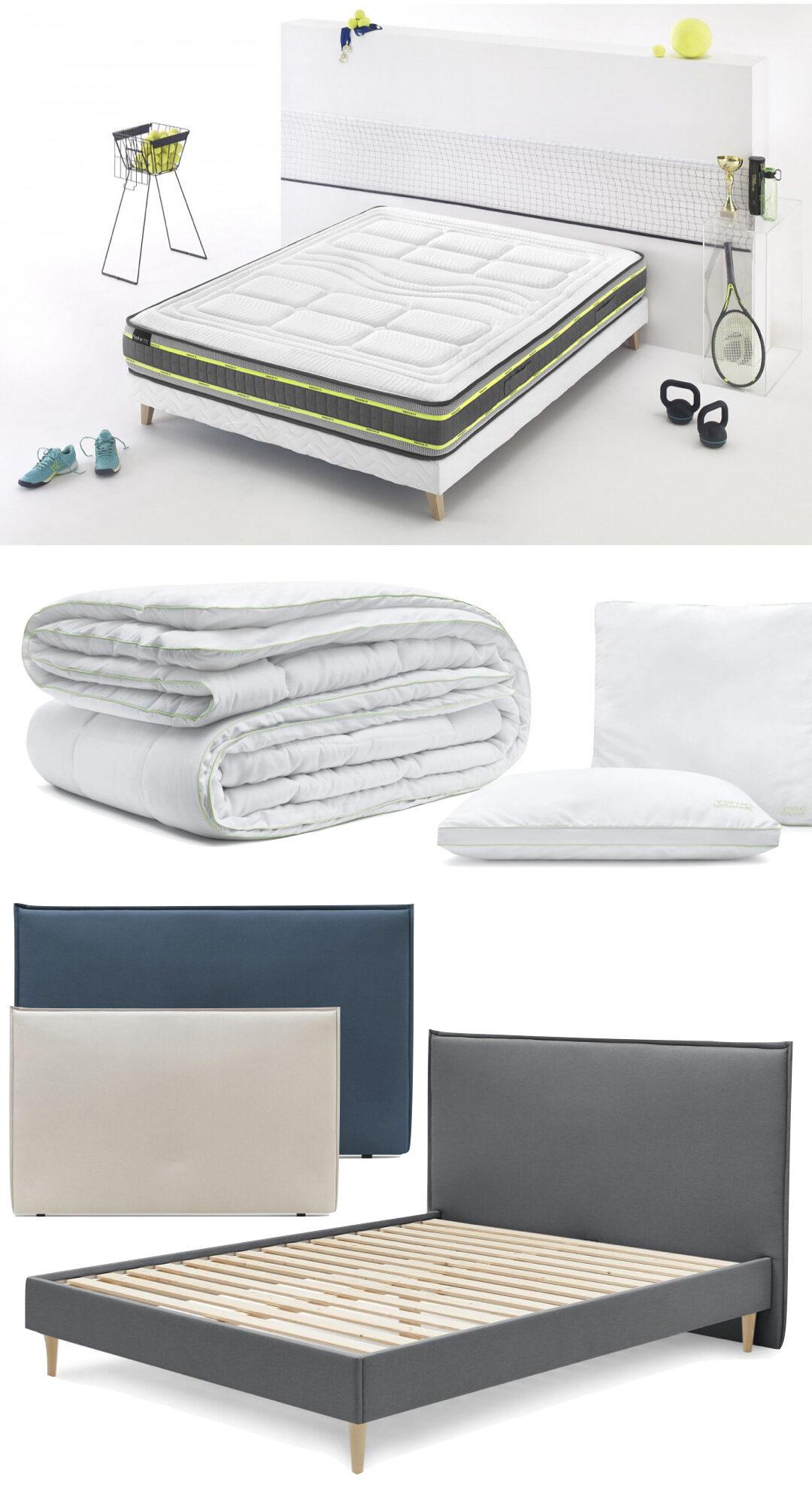 aménagement lit adolescent sportif repos sommeil confort meuble bobochic