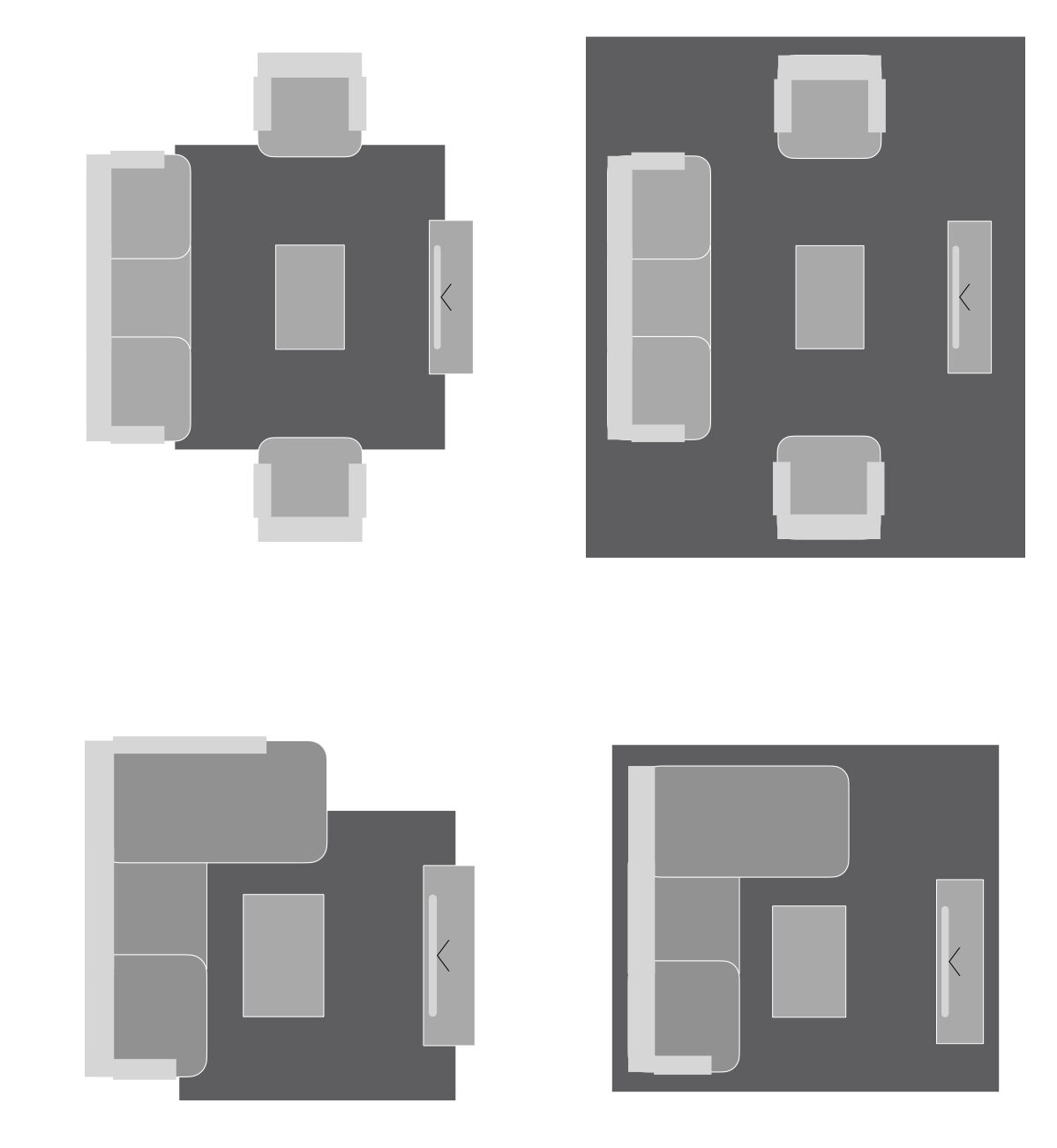 bien choisir taille format tapis salon meuble design Bobochic
