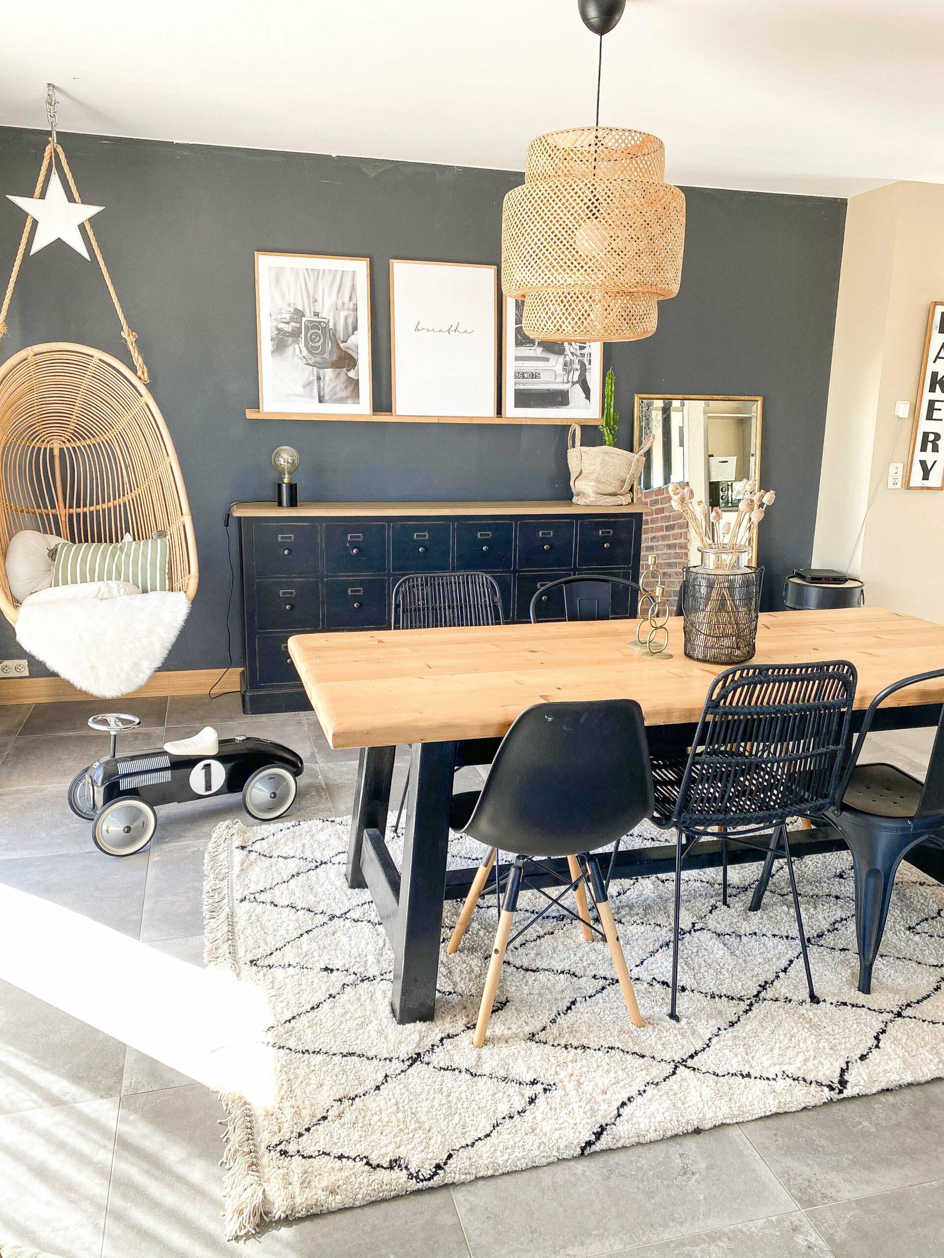 salle à manger personnaliser avec table et chaise bobochic