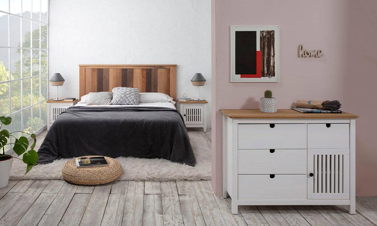 suite parentale cosy meuble design Bobochic mur rose