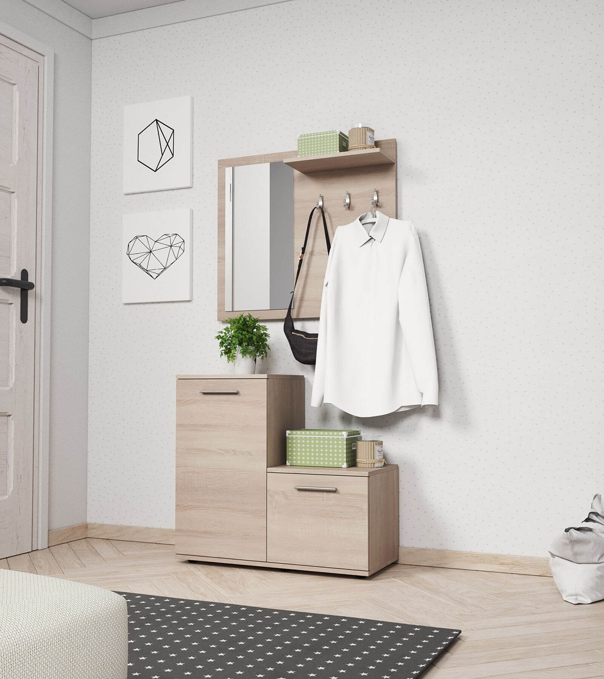meuble vestiaire comment bien agencer son entrée