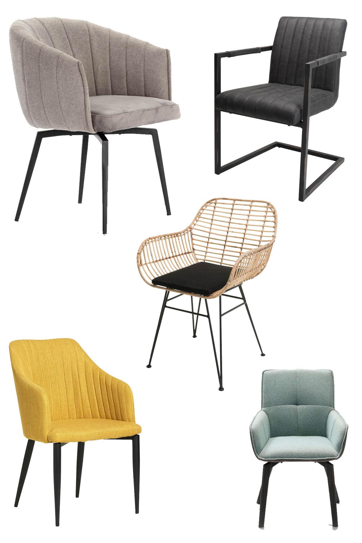 sélection fauteuils design bobochic table salle à manger