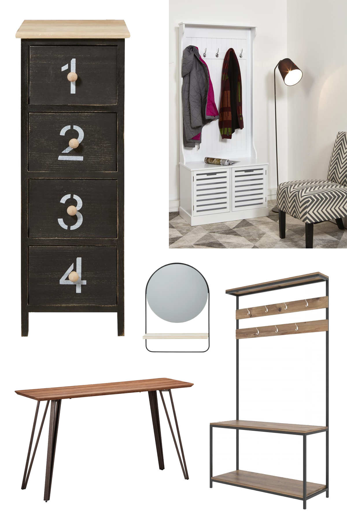 sélection meubles astucieux rangement manteau chaussure pratique bobochic