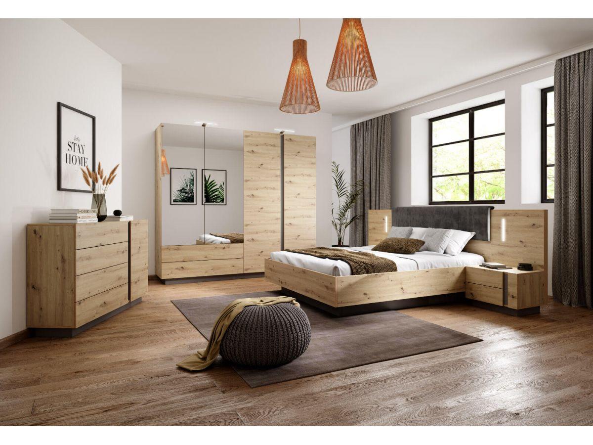 chambre complete arcoma et lit structure de lit