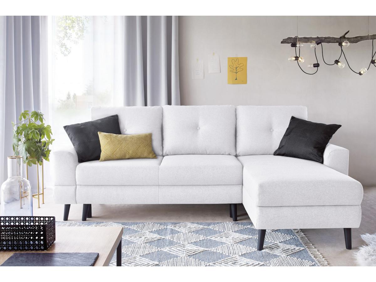 salon moderne bobochic déco meuble blanc noir jaune