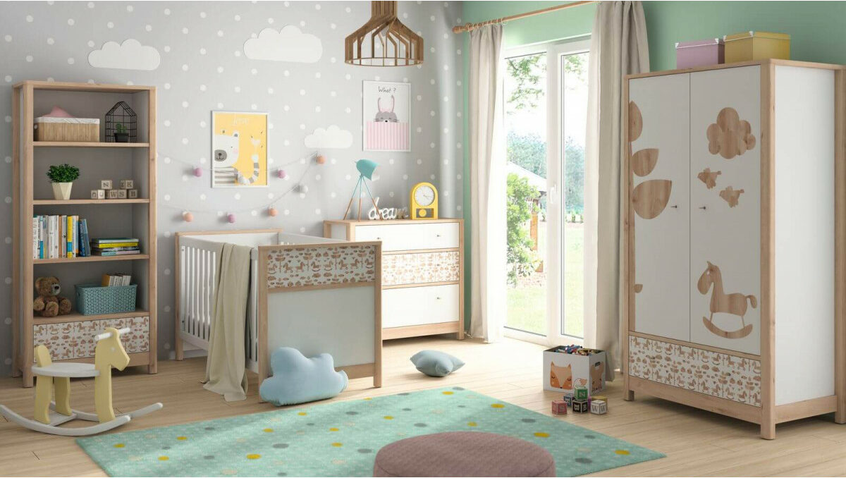 astuce aménagement chambre bébé dans petit espace