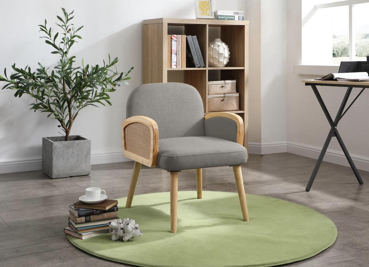 fauteuil meubles cannage rétro moderne design Bobochic