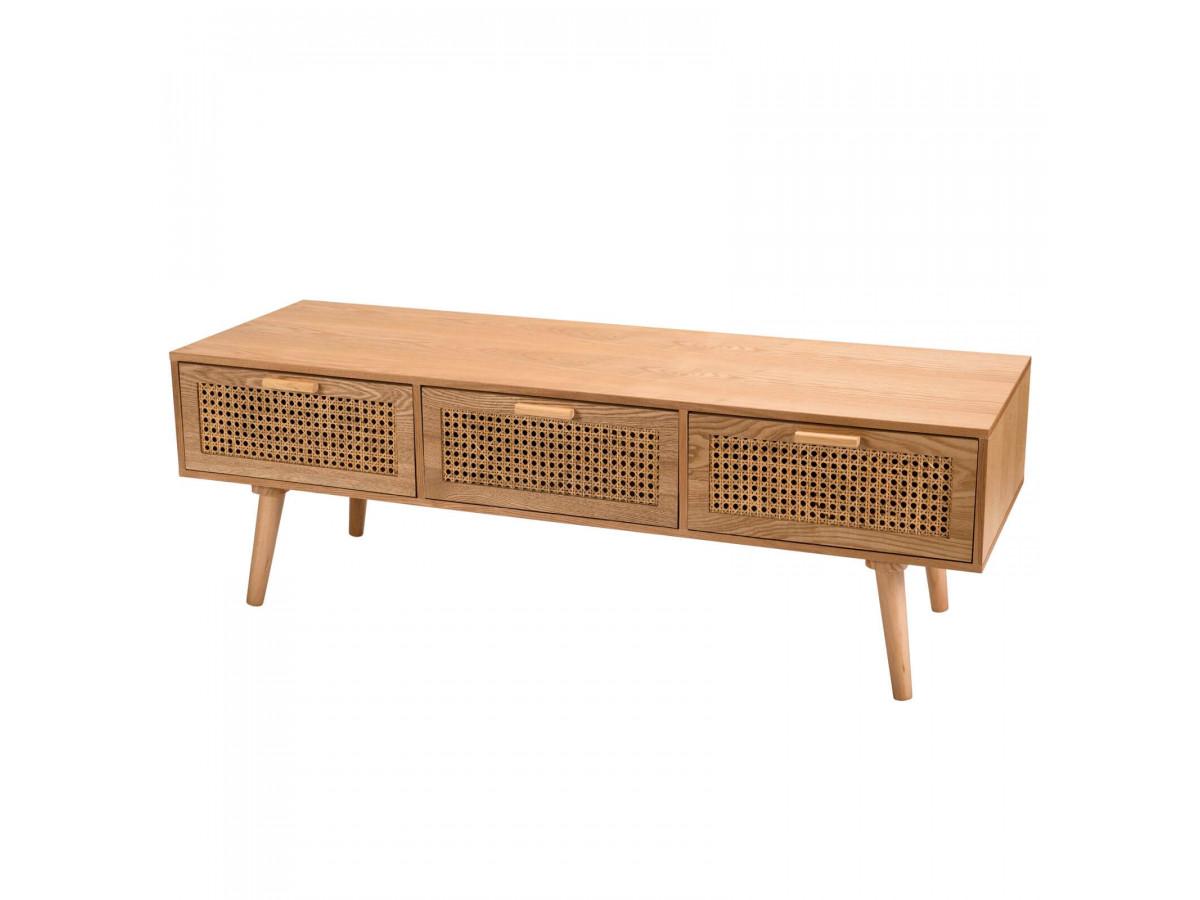 meuble tv design retro vintage années 50