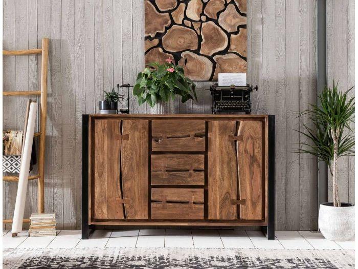 Choisir un buffet en bois massif avec le mobilier bobochic