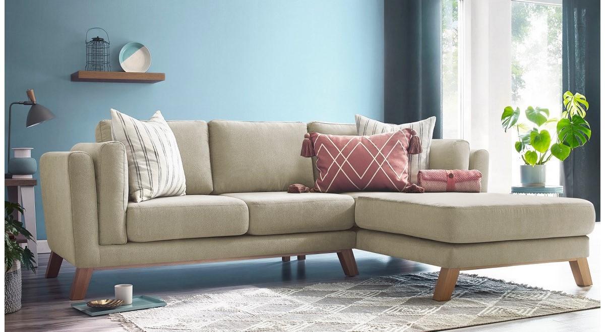 le canapé d'angle fixe seattle pour un séjour au style bohème