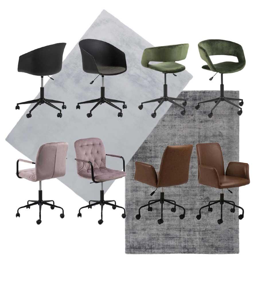 Chaise de bureau pour aménager son coin de bureau avec mobilier bobochic