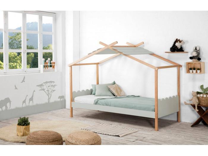 aménager une chambre d'enfant avec le lit cabane IDALIA Bobochic