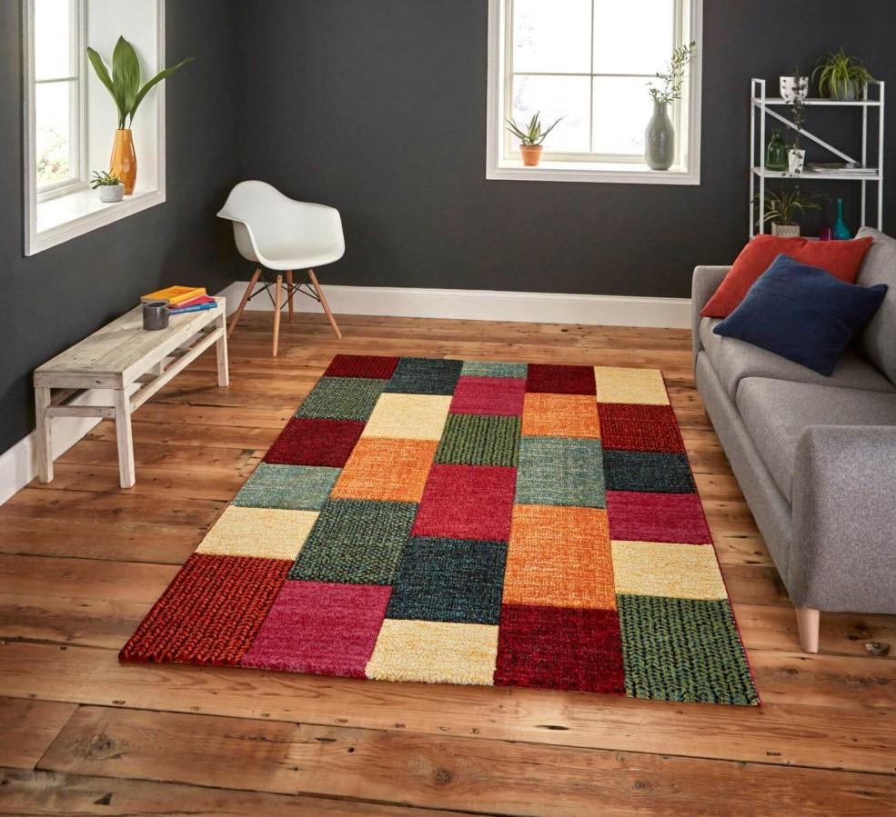 tapis London multicolor pour choisir la bonne deco avec du mobilier bobochic