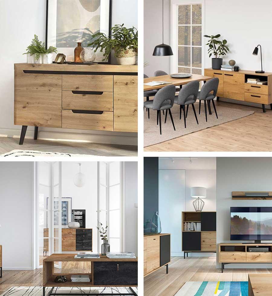 Tendances déco bois 2021 avec mobilier Bobochic