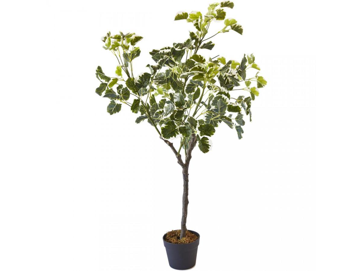 faux arbuste feuilles tachetées design pas cher resemblant