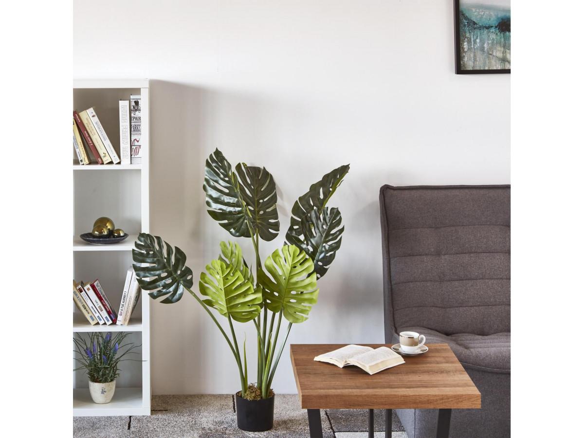 plantes artificielles fausse monstera deliciosa faux philodendron