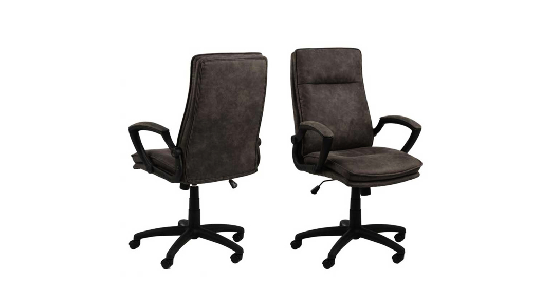 La chaise BRADLEY, confortable et classe pour votre espace de télétravail.
