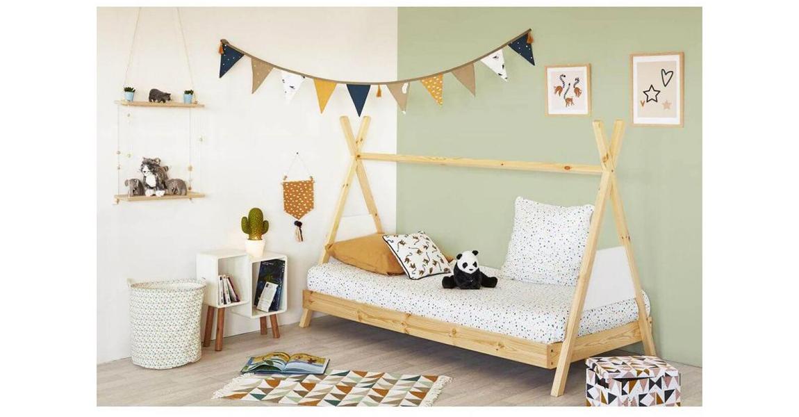 Le lit INDI, le lit parfait pour meubler la chambre de votre enfant.