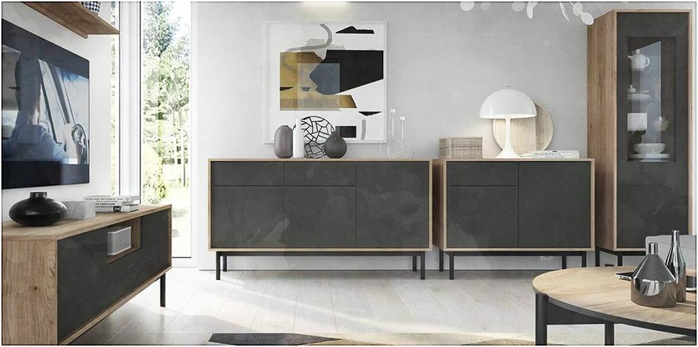 Le modèle BASIC, le plus petit et pratique des meubles TV BOBOCHIC.