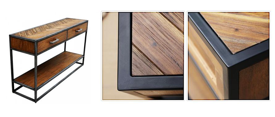 Nouveauté : la console en bois TAILT