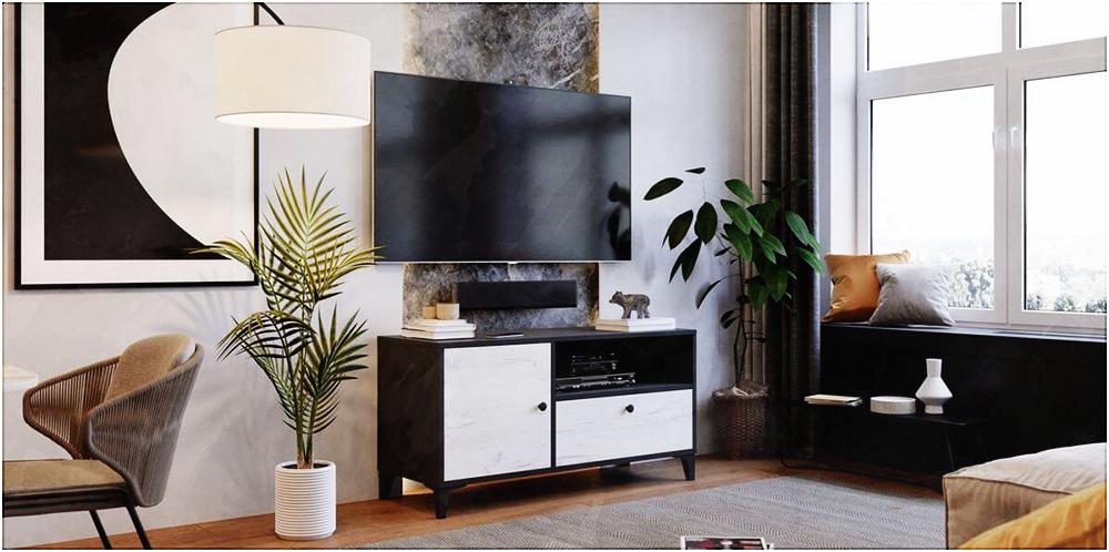 Le MIAMI, l'alternative du BASIC pour celles et ceux qui désirent un meuble TV moins discret.