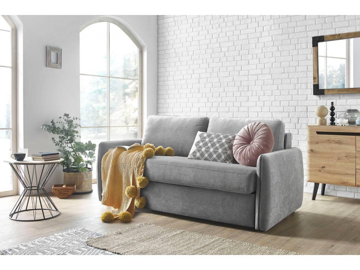 accessoiriser canapé lit plaid pompon jaune coussin rond velours rose