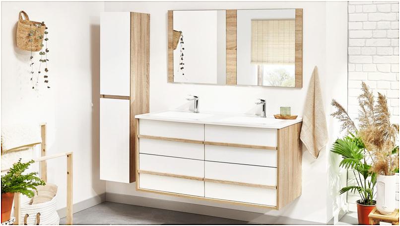 Nouveauté : la salle de bain MAHO, alliance entre praticité et beauté.