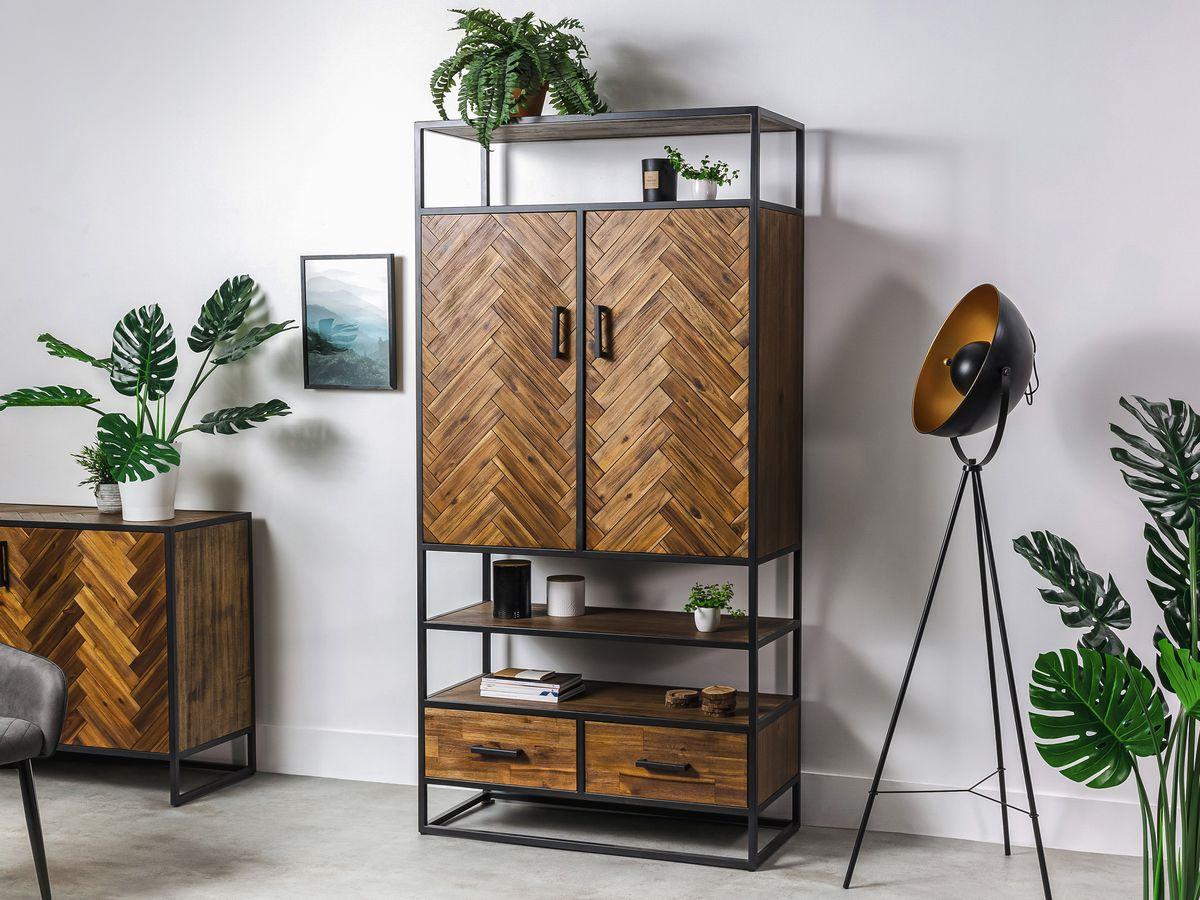 meuble industriel pour un style unique avec les meubles bobochic